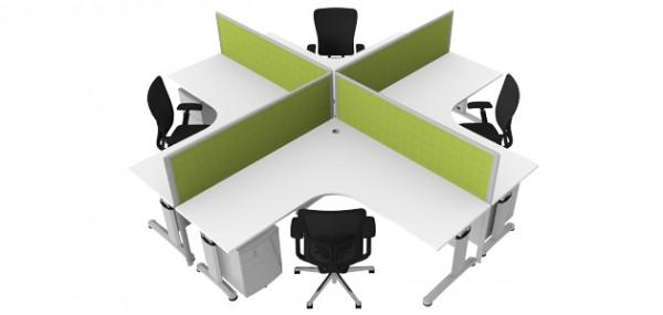 SWIFT - Desk System | Damen Office Furniture